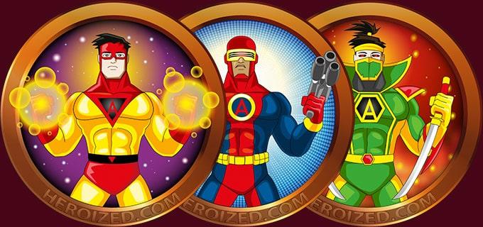 heroized create your own superhero